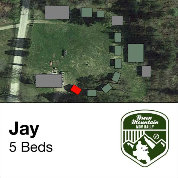 Jay cabin location on map
