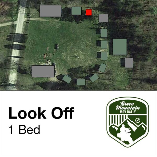 Look Off cabin location on map