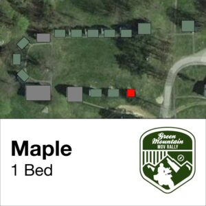 Maple cabin location on map