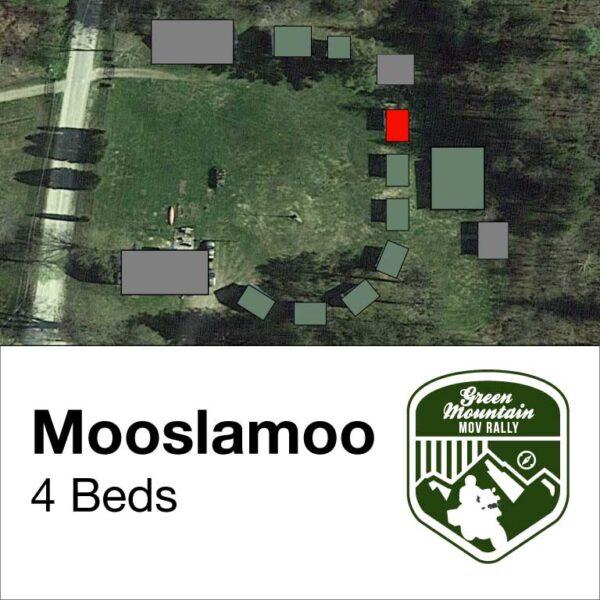 Mooslamoo cabin location on map